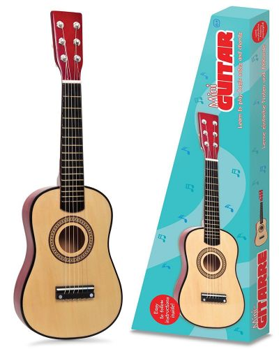 "23"" Children Kids Wooden Acoustic Guitar Metal Strings Musical Instrument Gift"
